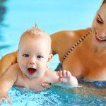 Babyschwimmen (4 – 18 Monate)